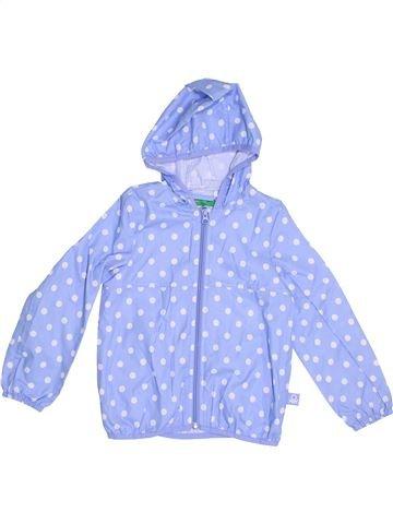 Anorak-Trinchera niña BENETTON azul 4 años verano #1351192_1