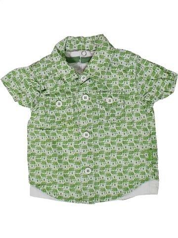 Chemise manches courtes garçon PUMPKIN PATCH vert 1 mois été #1351198_1