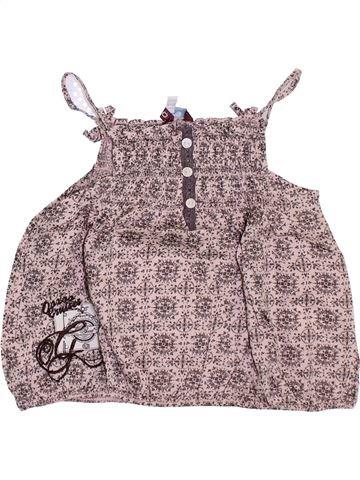 Blusa de manga corta niña OOXOO gris 4 años verano #1351460_1