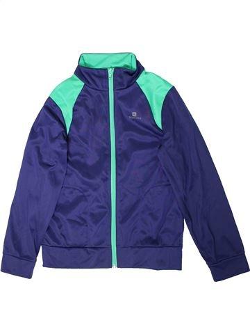 Sportswear garçon DOMYOS violet 10 ans hiver #1351836_1