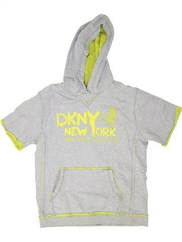 Sweat garçon DKNY blanc 12 ans hiver #1352359_1