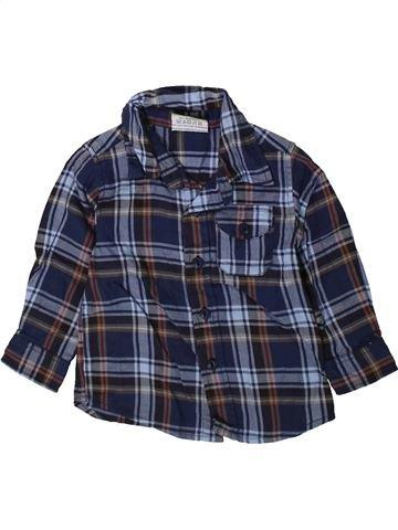 Chemise manches longues garçon TOPOLINO bleu 18 mois hiver #1352435_1