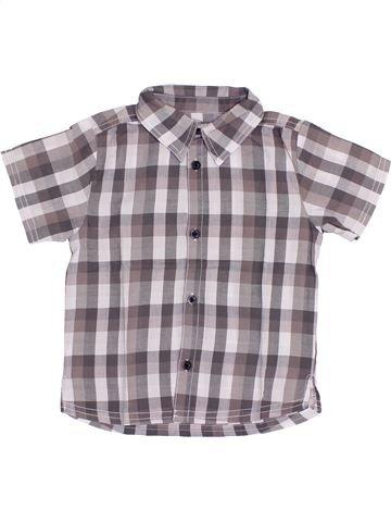 Camisa de manga corta niño KIMBALOO gris 3 años verano #1352510_1