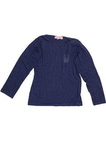T-shirt manches longues fille LISA ROSE bleu 6 ans hiver #1352807_1