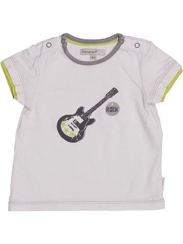 Camiseta de manga corta niño PREMAMAN blanco 6 meses verano #1353170_1