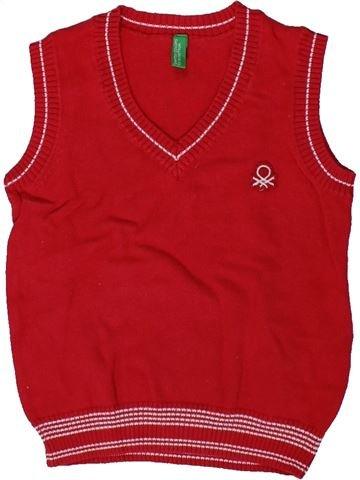 jersey niño BENETTON rojo 2 años invierno #1353331_1