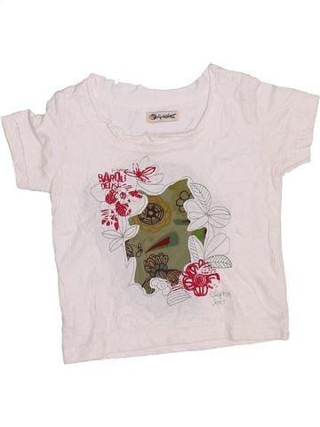 Camiseta de manga corta niña ALPHABET blanco 2 años verano #1353500_1