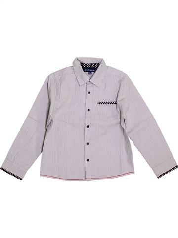 Chemise manches longues garçon YCC-214 blanc 5 ans hiver #1354082_1