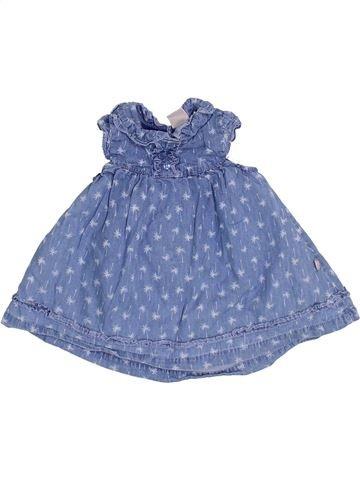 Robe fille SMILE bleu 3 mois été #1355499_1