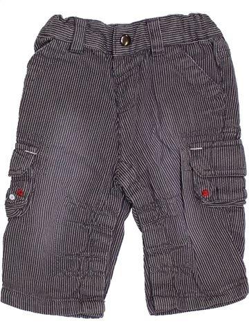 Pantalón niño 3 SUISSES gris 3 meses verano #1355976_1
