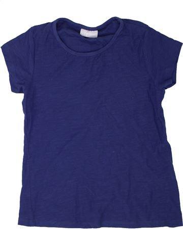 T-shirt manches courtes fille I LOVE GIRLSWEAR bleu 8 ans été #1356006_1