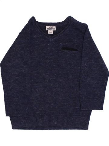 Pull garçon LIBERTO bleu 6 mois hiver #1356111_1