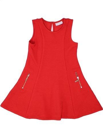 Robe fille I LOVE GIRLSWEAR rouge 4 ans été #1356194_1