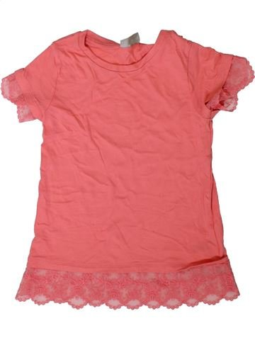Camiseta de manga corta niña I LOVE GIRLSWEAR rosa 7 años verano #1356662_1