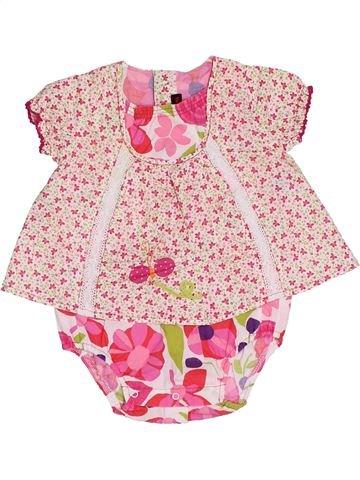 Blusa de manga corta niña CATIMINI violeta 3 meses verano #1356730_1