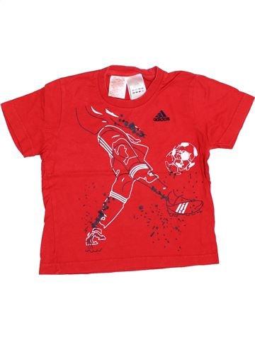 Camiseta de manga corta niño ADIDAS rojo 6 años verano #1357098_1