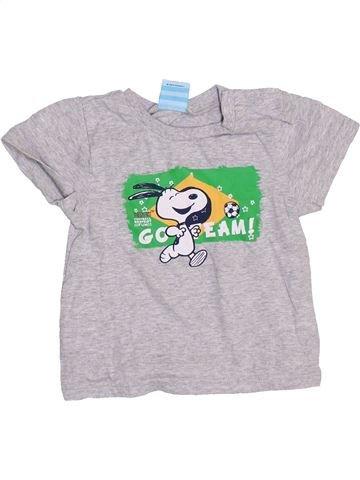 T-shirt manches courtes garçon GENERATION Z blanc 2 ans été #1357792_1