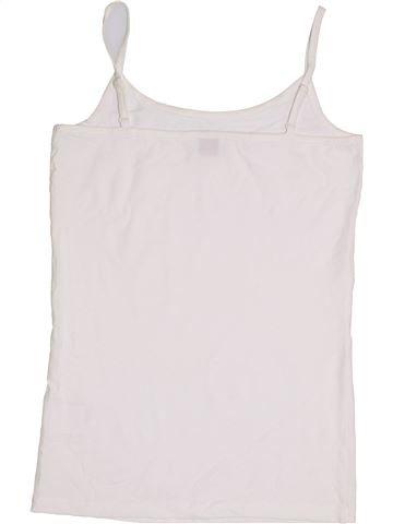 T-shirt sans manches fille S.OLIVER blanc 16 ans été #1357905_1