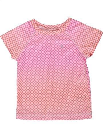 Camiseta de manga corta niña CARTER'S rosa 2 años verano #1358138_1