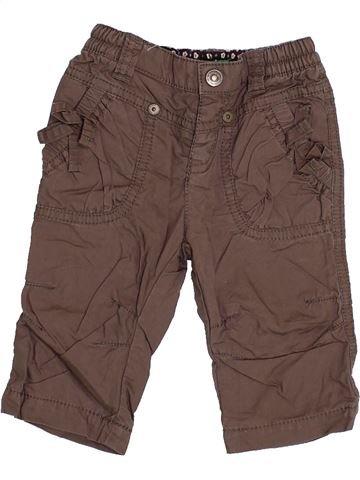 Pantalón niña BENETTON marrón 6 meses invierno #1358559_1