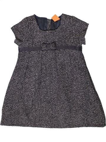 Robe fille PUSBLU gris 3 ans été #1358586_1