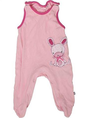 Pyjama 1 pièce fille LIEGELIND rose 1 mois été #1358608_1