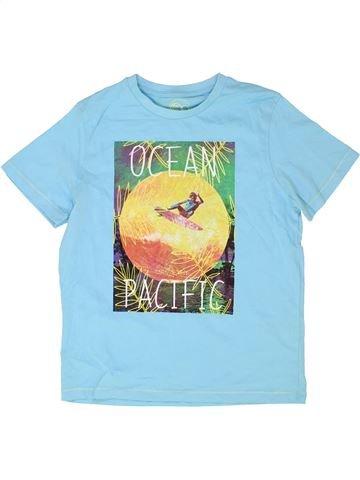 T-shirt manches courtes garçon OCEAN PACIFIC bleu 10 ans été #1358770_1