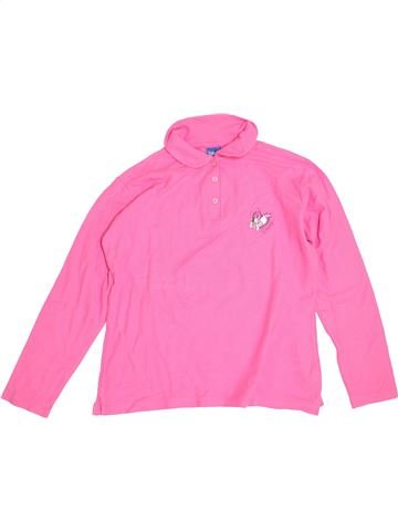 Polo manches longues fille DISNEY rose 14 ans hiver #1359849_1