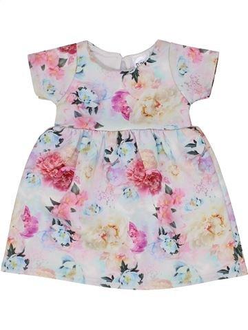 Vestido niña BABY blanco 9 meses verano #1359991_1