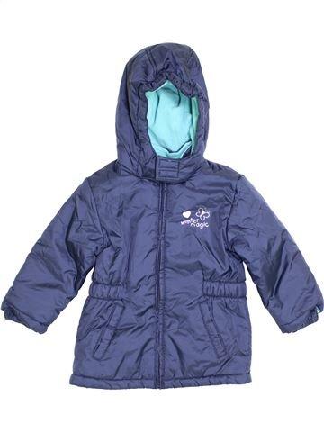 Manteau fille PAPAGINO bleu 3 ans hiver #1360451_1