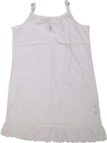 Robe fille IKKS blanc 10 ans été #1360526_1