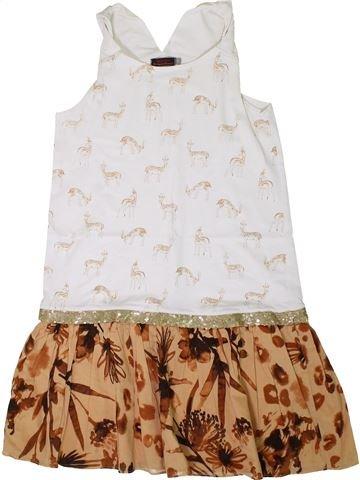 Vestido niña CATIMINI marrón 12 años verano #1360593_1