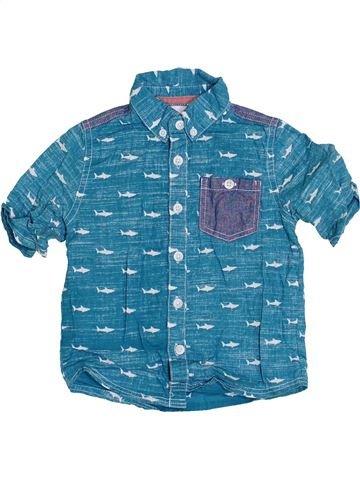 Chemise manches courtes garçon MINI CLUB bleu 2 ans été #1360805_1