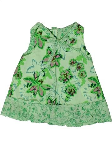 Vestido niña MARÈSE verde 3 meses verano #1360954_1