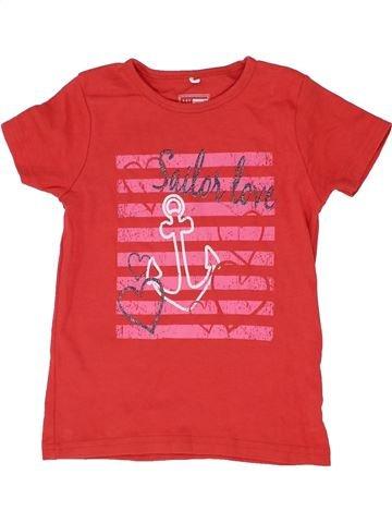 Camiseta de manga corta niña NAME IT rojo 6 años verano #1361057_1