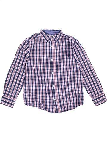Chemise manches longues garçon C&A violet 10 ans hiver #1361480_1