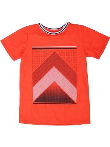T-shirt manches courtes garçon RIVER ISLAND orange 10 ans été #1361551_1