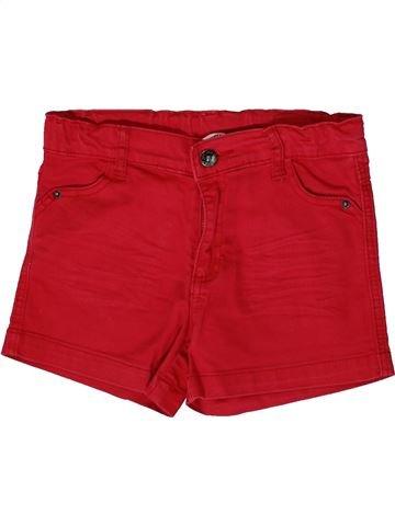 Short-Bermudas niña 3 POMMES rojo 12 años verano #1361605_1