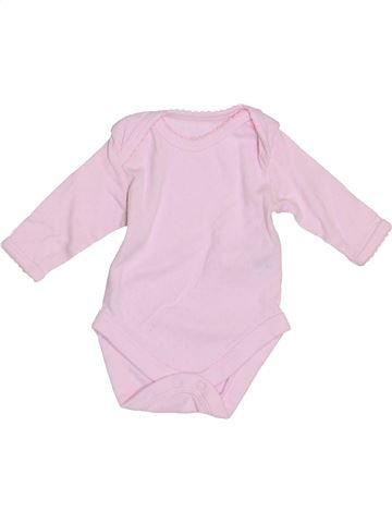 T-shirt manches longues fille MOTHERCARE rose prématuré hiver #1361718_1