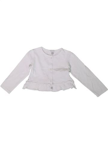 Gilet fille ABSORBA blanc 2 ans hiver #1361978_1