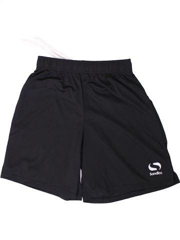 Pantalon corto deportivos niño SONDICO azul oscuro 13 años verano #1362201_1