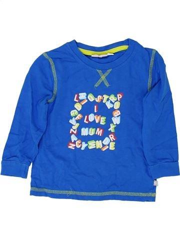 T-shirt manches longues garçon LIEGELIND bleu 3 ans hiver #1362241_1