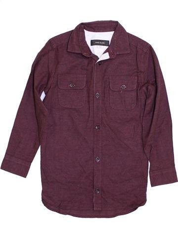 Chemise manches longues garçon RIVER ISLAND violet 4 ans hiver #1362309_1