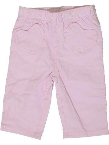 Pantalón niña CHEROKEE blanco 6 meses verano #1362383_1