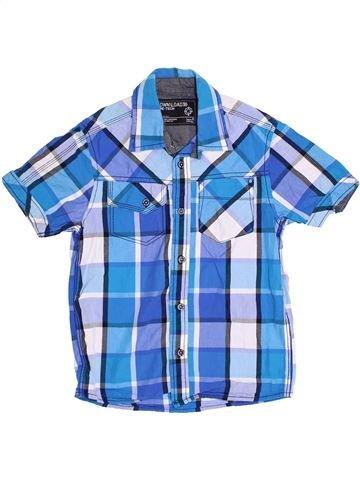 Chemise manches courtes garçon C&A bleu 8 ans été #1362446_1