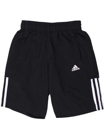 Pantalon corto deportivos niño ADIDAS negro 10 años verano #1362489_1