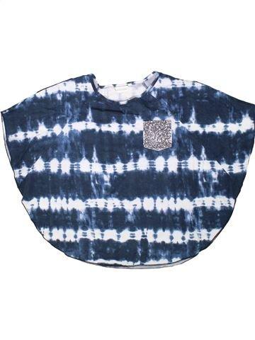 T-shirt manches courtes fille TAMMY GIRL bleu 13 ans été #1362499_1
