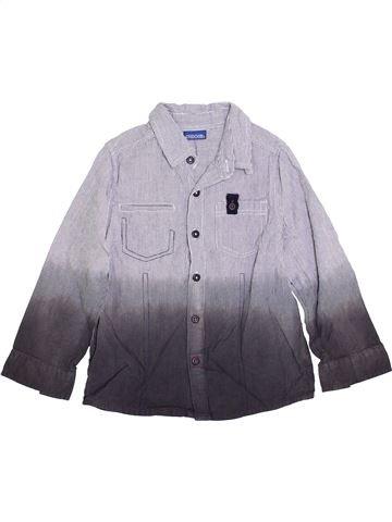 Chemise manches longues garçon CHEROKEE gris 5 ans hiver #1362515_1