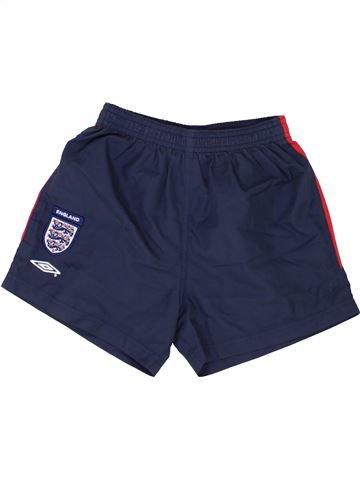 Pantalon corto deportivos niño UMBRO azul 7 años verano #1362990_1
