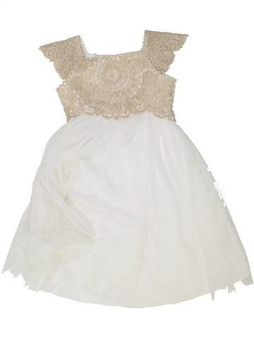 Robe fille MONSOON blanc 3 ans été #1363029_1